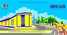 Exposición Santa Lucía, albergue de tradiciones. Septiembre 2011. Museo Virtual del Zulia. Venezuela