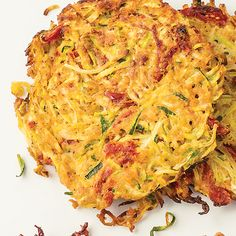 Zucchini Noodle Cakes