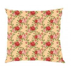 Spring Has Sprung Peach Floral Cushion Cover