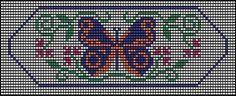 Butterfly Loom Beadwork Pattern  #heartbeadwork  #loombeading