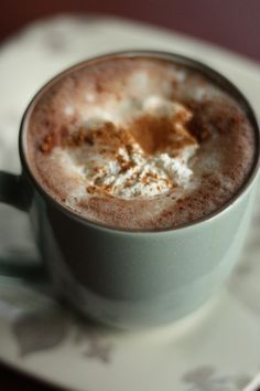 Mocha: 1 tbsp unsweetened cocoa powder 1 tbsp white sugar {can use a sugar substitute if you don't want this to stick to your hips} 2 tbsp milk 1 cup hot coffee 1 dollop whip cream cinnamon {optional....it is flexible too}  Add cocoa, sugar, and milk to a coffee cup and stir.  Add coffee and stir.  Top with whip cream and cinnamon.