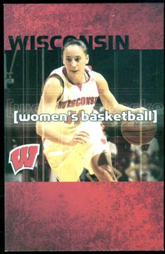 2004-05 WISCONSIN BADGERS WOMENS BASKETBALL SCHEDULE FREE SHIPPING #Schedule