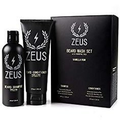 Zeus Beard Shampoo and Conditioner consists of a rejuvenating blend, designed to offer peak performance. To start, the Zeus Shampoo cleanses your beard with a rich lather. Dragon's Blood and green tea extract calm the skin and hair follicles to prevent ir Best Beard Shampoo, Beard Shampoo And Conditioner, Mens Shampoo, Diy Beard Oil, Boar Hair Brush, Vanilla Rum, Beard Growth Oil, Photography Institute, Beard Wash