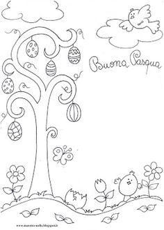 maestra Nella: Pasqua-Disegni da colorare