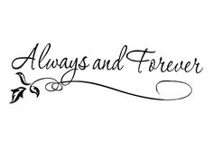 Always-and-Forever-Love-Wedding-House-Art-Vinyl-DIY-wall-sticker-decal-decor-quote-lettering-gift.jpg (700×500)