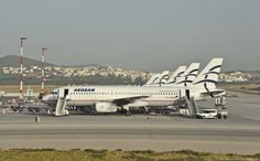 "Καλημέρα AEGEAN! Athens International Airport ""Eleftherios Venizelos"" ATH/LGAV"