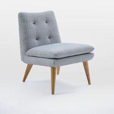 Ingrid Chair, Crossweave, Ming Blue