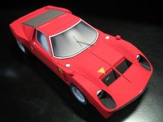 Shinya is the papermodeller. He is from Tokyo and give to us this wonderful collection of legendary machines: Lamborghini Miura P400, Lamborghini J (JOTA) original, Lamborghini Countach LP400, Toyota 2000GT, a stunning model of Ferrari F50GT and the Mach 5, from Speed Racer`s 70`s anime!   The models are so perfect that does not seem to be made out of paper!