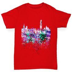Hong Kong Skyline...  http://twistedenvy.com/products/hong-kong-skyline-ink-splats-boys-t-shirt?utm_campaign=social_autopilot&utm_source=pin&utm_medium=pin   Shop for Amazing Art  Show your Creative side.  #Twistedenvy