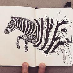 Une fois de plus à la recherche de nouveaux talents, en parcourant Instagram je suis tombé sur les travaux de cet artiste américain Francisco Del Carpio, et je suis très fan de ses illustrations en noir en blanc. Réalisées sur ces carnets de dessins, chacune de ses création non emmène dans un univers différent. Le […]