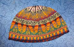 Oregon Hat pattern by Alice Starmore