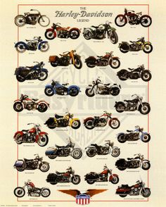 Vintage Harley Davidson Motorcycles Poster.    I'd like to suggest my personal website about gift ideas and tips. The site is http://ideiadepresente.com  You're welcome to visiting my website!    [BR]  Eu gostaria de sugerir meu site pessoal de dicas de presentes, o site � http://ideiadepresente.com