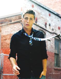 Colton Haynes . He looks like a Hollister Model. . .But , Better !