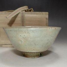 Modern Japanese Hagi Pottery Tea Bowl #1912 - CHANOYU