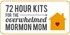 A Year of FHE: 72 Hour Kits - Pt. 1