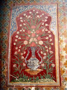 Wall Decoration Of Wazir Khan Mosque
