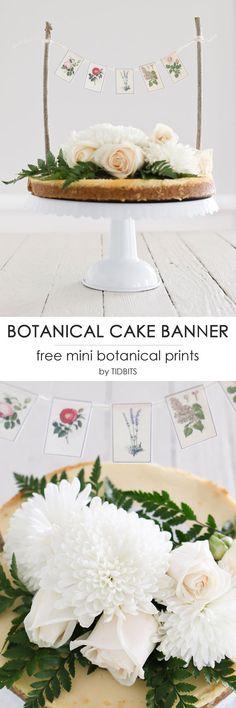Mini Botanical Cake