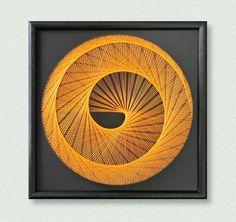 Wall Art Zen 3D UV String Art Bohemian Art Set Harmony in