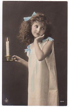.Vintage Postcard.
