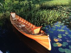 Beautiful Handcrafted Guideboats from Kevlar and Cedar $18,000