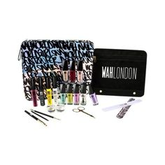 WAH-HEALTH AND BEAUTY-Cosmetics-WAH LONDON Ultimate Nail Art Advantage card points. Fave colours, essential tools and tutorial cards; this is the ultimate kit to start building your own nail art collection. FREE Delivery on orders over 45 GBP. Nail Art Kit, Cosmetic Sets, Brand Collection, Beauty Junkie, Health And Beauty, Cosmetics, Nails, Boots, Ongles