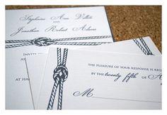 Hochzeitseinladungen und Briefpapier nautische von SparetireDesign, $25.00