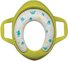 bbluv Poti Padded Toilet Seat Cover for Potty Training - Lime Lima, Kitchen Step Stool, Fear Of Falling, Potty Seat, Potty Training, Walmart, Cleaning, Water, Design