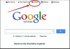 A Must Know Google Scholar Tip for Researchers and Educators ~Go Nick!