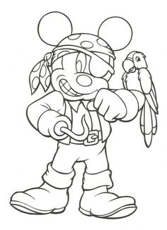 Mickey Mouse – Free Disney Halloween Coloring Pages Make your world more colorful with free printable coloring pages from italks. Our free coloring pages for adults and kids. Disney Halloween Coloring Pages, Pirate Coloring Pages, Mickey Mouse Coloring Pages, Printable Coloring Pages, Adult Coloring Pages, Coloring Pages For Kids, Coloring Books, Kids Coloring, Free Disney Coloring Pages