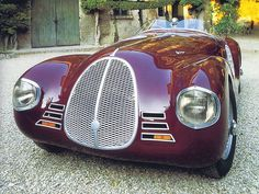1940 Ferrari AAC 815 ~ Enzo Ferrari's first car...x