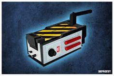 Who ya gonna call. Ghostbusters Trap, Boy Birthday, Horror, Geek Stuff, Graphic Design, Tools, Film, Amp, Music
