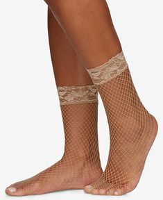 Appraise Diamond Jewelry Berkshire Women's Fishnet Anklet Socks 5118 - Tan/Beige - Berkshire's anklet socks capture a refined fashion look with a delicate lace and fishnet design. Fishnet Ankle Socks, Ankle High Socks, Fishnet Stockings, Gold Chains For Men, Baby Clothes Shops, Handbag Accessories, Jewelry Accessories, Pumps Heels, High Heels