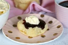 The perfect scones with jam and cream. I've been using this recipe for years and I love it! #lemonade #scones #recipe #easy