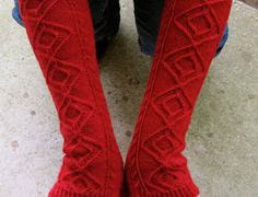 Knit Mitt Pattern  Matterhorn Long by WearableArtEmporium on Etsy, $6.75
