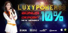 Luxypoke99 akan mengajak anda untuk memilih agen judi terbaik dengan jam kerja yang panjang dan pengalaman yang telah dilewati agen judi poker online.