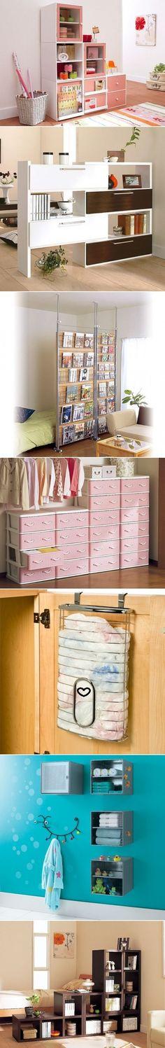 DIY Storage Solution ideas