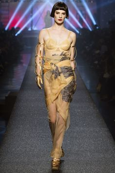 See the complete Jean Paul Gaultier Spring 2013 Ready-to-Wear collection.