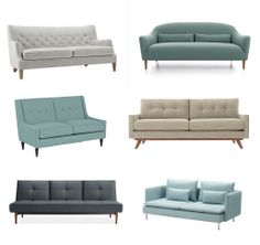 Six Stylish Sofas for Small Spaces Shopping Guide