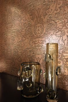 Mille Millions, a fascinating #wallcovering collection of varying styles by Elitis. A decorating #style that brings you back to the time of monarchs. Wallcovering from Mille Millions,Elitis, #Goodrich
