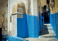 The tomb of the great Medieval Muslim traveler and scholar Muhammad Ibn Battuta (1304-1369). Old Medina (historical downtown) of Tangier, Morocco.