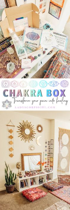 Chakra box is a subscription for anyone who is ready for a healthy lifestyle by balancing their mind body and soul. Chakras are energy centers within the human body that keep us healthy and in balance with the world around u Chakra Healing, Crystal Healing, 7 Chakras, Spiritual Development, Chakra Crystals, Work Gloves, Diy Ebooks, Wall Spaces, Gifts For Husband