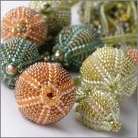 Seed Pods - Manek-Manek, Bead Jewelry, Kits, Patterns & Workshops