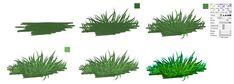 GRASS - easy tutorial by ryky on deviantART via PinCG.com