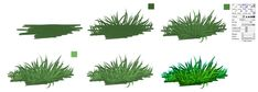 GRASS - easy tutorial by ryky on deviantART via PinCG.com