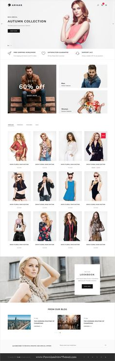 Arvakr is a clean and modern design responsive multipurpose #bootstrap HTML template for creative #fashion store #eCommerce shop #website with 8 niche homepage #layouts to download & live preview click on image or Visit