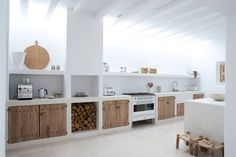 Cool Impressive home in Ibiza with modern country design, designed by Blakstad. The post Impressive home in Ibiza with modern country design, designed by Blakstad…. appeared first on Decor Designs . Home Decor Kitchen, Rustic Kitchen, Interior Design Kitchen, Home Kitchens, Kitchen Furniture, Kitchen Modern, Kitchen White, Furniture Design, Kitchen Ideas