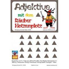 Adjektive mit dem Räuber Hotzenplotz Braun