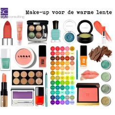 Make-up warme lente/ warm spring. by roorda on Polyvore featuring moda, Tom Ford, Chanel, Clinique, Lancôme, Terre Mère, LORAC, Maybelline, Bobbi Brown Cosmetics and MAC Cosmetics