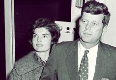Senator Kennedy and his wife Jackie visiting Oak Ridge National Laboratory, 1959.