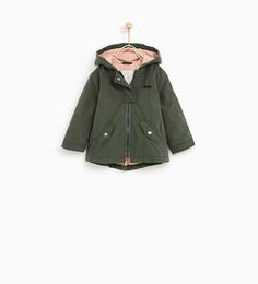 MINNIE MOUSE PARKA WITH HOOD-OUTERWEAR-BABY GIRL | 3 months - 4 years-KIDS | ZARA United States